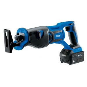 Draper - D20 20V Brushless Reciprocating Saw with 1x 3Ah Battery and Fast Charger