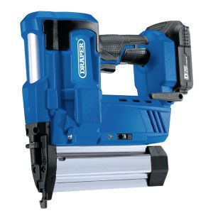Draper - D20 20V Nailer/Stapler with 1x 2Ah Battery and Charger