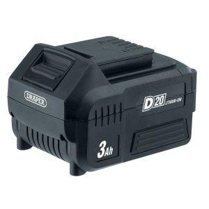 Draper - D20 20V Lithium Battery (3.0Ah)