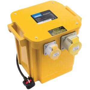 Draper - 5VA 230V to 110V Portable Site Transformer