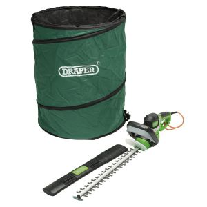 Draper - Electric Hedge Trimmer and Tidy Bag