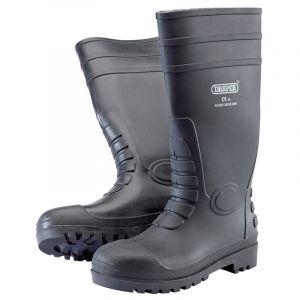 Draper - Safety Wellington Boots- Size 8 (S5)