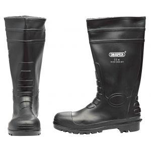 Draper - Safety Wellington Boots - Size 10 (S5)