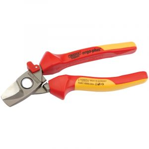 Draper - Expert 180mm Ergo Plus® Fully Insulated Cable Cutter