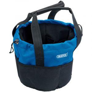 Draper - 14 Pocket Bucket-Shaped Bag