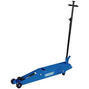 Draper - Long Chassis Trolley Jack (3 tonne)
