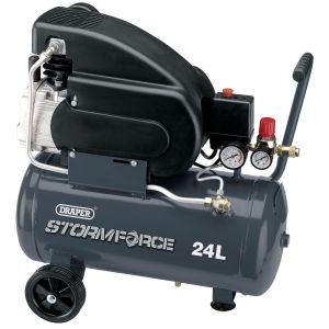 Draper - 24L 230V 2hp Air Compressor