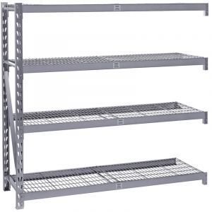 Draper - Expert Heavy Duty Steel 4 Shelving Extension Unit - 1959 x 610 x 1830mm