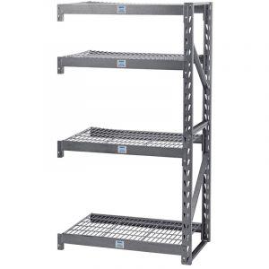 Draper - Expert Heavy Duty Steel 4 Shelving Extension Unit - 1040 x 610 x 1830mm