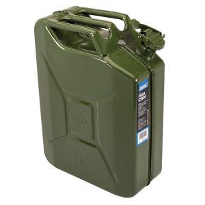 Draper - 20L Steel Fuel Can (Green)