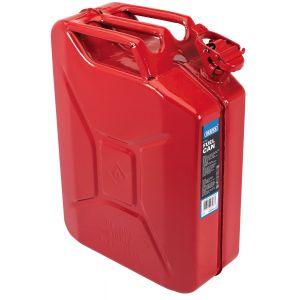Draper - 20L Steel Fuel Can (Red)