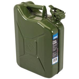 Draper - 10L Steel Fuel Can (Green)