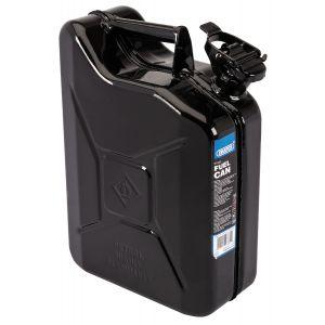 Draper - 10L Steel Fuel Can (Black)