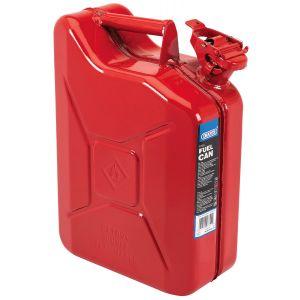 Draper - 10L Steel Fuel Can (Red)