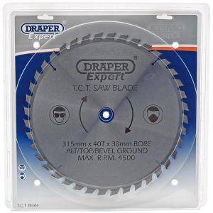 Draper - Expert TCT Saw Blade 315X30mmx40T