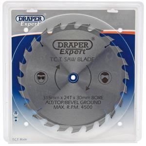 Draper - Expert TCT Saw Blade 315X30mmx24T