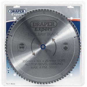 Draper - Expert TCT Saw Blade 355X25.4mmx80T