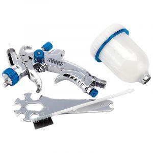 Draper - 100ml Gravity Feed HVLP Air Spray Gun