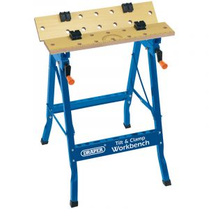 Draper - 600mm Tilt and Clamp Fold Down Workbench