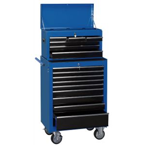 """Draper - 26"""" Combination Roller Cabinet and Tool Chest (15 Drawer)"""