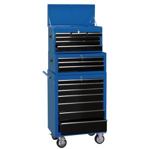 """Draper - 26"""" Combination Roller Cabinet and Tool Chest (16 Drawer)"""