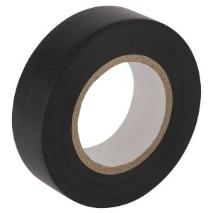 Draper - 20M x 19mm Black Insulation Tape to BS3924 and BS4J10 Specifications