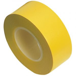 Draper - 10M x 19mm Yellow Insulation Tape to BSEN60454/Type2 (Pack of 8)
