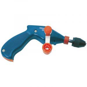 "Draper - 8mm or 3/8"" Chuck Pistol Grip Hand Drill"