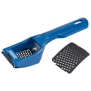 Draper - 65mm x 40mm Curved Blade Multi Rasp Shaver
