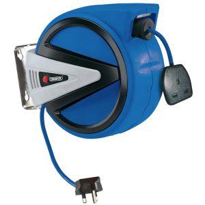 Draper - 230V Retractable Electric Cable Reel (10m)