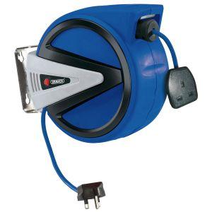 Draper - 230V Retractable Electric Cable Reel (20m)