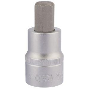 """Draper - 17mm 3/4"""" Sq. Dr. Elora Hexagon Screwdriver Socket"""