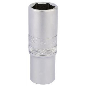 """Draper - 1/2"""" Sq. Dr. 6 Point Metric Deep Socket (20mm)"""