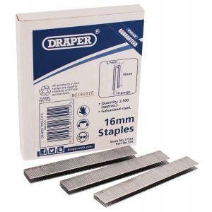Draper - 16mm Staples (2500)