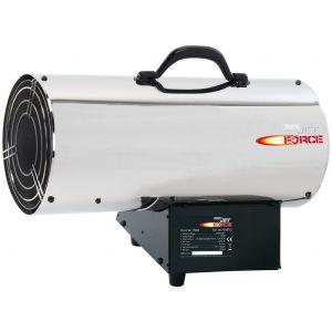 Draper - Jet Force Stainless Steel Propane Space Heater (85,000 BTU/25 kW)