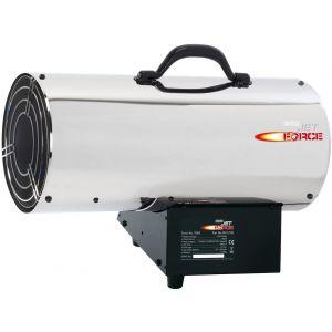 Draper - Jet Force Stainless Steel Propane Space Heater (125,000 BTU/37 kW)