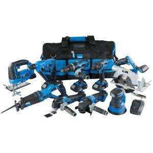 Draper - Draper Storm Force® 20V Cordless Kit (9 Piece)