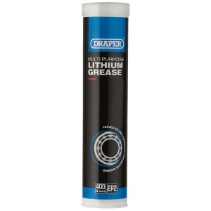 Draper - Multi Purpose Lithium Grease - Cartridge (400ml)