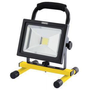 Draper - 20W COB LED Rechargeable Work Light - 1,600 Lumens