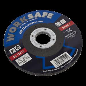 Sealey Grinding Disc DPC Metal Ø115 x 6 x 22mm