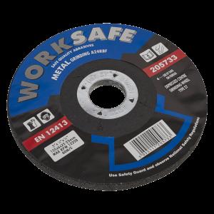 Sealey Grinding Disc DPC Metal Ø125 x 6 x 22mm