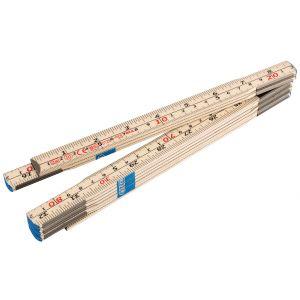 Draper - Folding Wood Rule (2m)