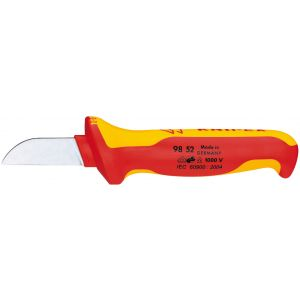 Draper - Knipex 98 52 180mm Fully Insulated Cable Knife