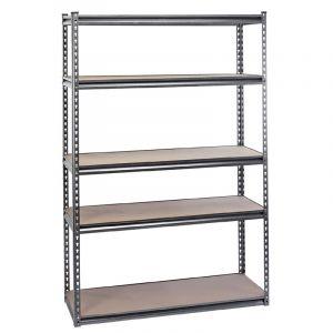Draper - Heavy Duty Steel Shelving Unit - Five Shelves (L1220 x W450 x H1830mm)