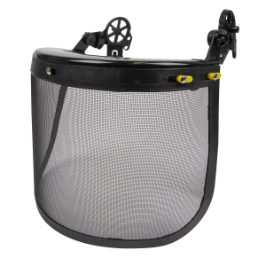 Sealey Clip-On Mesh Visor with Carrier