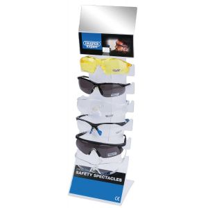 Draper - Countertop Display of Six Safety Spectacles