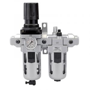 "Draper - 1/2"" BSP Combined Filter/Regulator/Lubricator"
