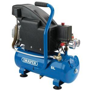 Draper - 8L Air Compressor (0.75kW)