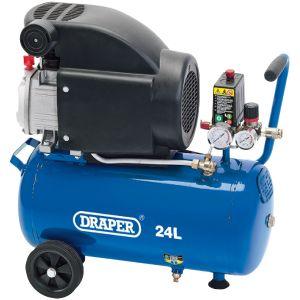 Draper - 24L Air Compressor (1.5kW)