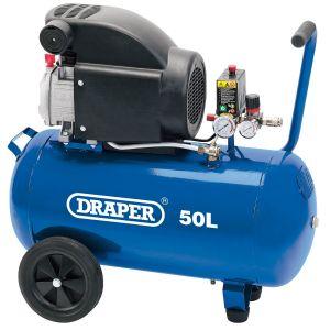 Draper - 50L Air Compressor (1.5kW)